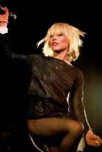 Deborah Harry 1970's performing on stage with Blondie 4x6 inch real photograph