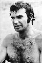 Burt Reynolds macho barechested 1970's pin-up 4x6 inch real photograph