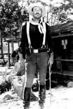 John Wayne full length in Cavalry uniform She Wore A Yellow Ribbon 4x6 inch phot