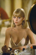 Michelle Pfeiffer sexy in low cut neglige very revealing 4x6 inch photo Scarface