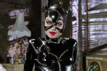 Michelle Pfeiffer as Catwoman with smudged lipstick 4x6 inch real photograph