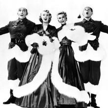 White Christmas Bing Danny Vera-Ellen & Rosemary final dance scene 12x12 photo