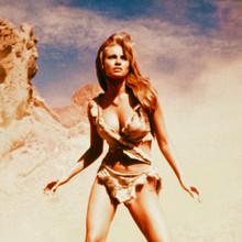 Raquel Welch One Million Years BC classic image in fur bikini 12x12 inch photo