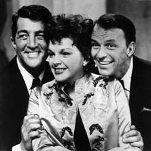 Dean Martin Judy Garland Frank Sinatra 1960's rare portrait 12x12 inch photo