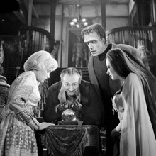 The Munsters Herman Lily Marilyn watch Grandpa with crystal ball 12x12 photo