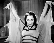 The Munsters TV series classic portrait of Lily Munster arms raised 12x18 Poster