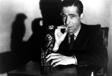 The Maltese Falcon Humphrey Bogart classic as Spade with bird 12x18 inch Poster