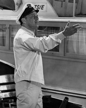 Assault on a Queen Frank Sinatra in sailing cap on his boat 12x18  Poster