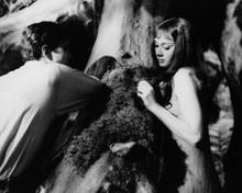Green Mansions Anthony Perkins Audrey Hepburn in woods 12x18  Poster