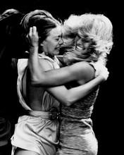 Logan's Run Jenny Agutter & Farrah Fawcett fight scene 12x18  Poster