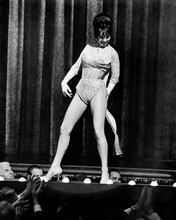 Gypsy Natalie Wood sexy full length pose doing striptease on stage 12x18  Poster