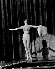 Gypsy Natalie Wood arms outstretched during striptease 12x18  Poster
