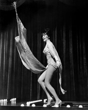 Gypsy Natalie Wood stunning full length stripping on stage 12x18  Poster