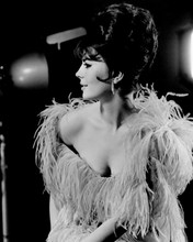 Gypsy Natalie Wood beautiful sexy studio portrait with cleavage 12x18  Poster