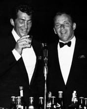 Frank Sinatra Dean Martin drinking at bar 12x18  Poster