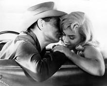 The Misfits Clark Gable Marilyn Monroe tender moment 12x18  Poster