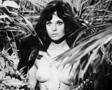 Tarzana Franca Polesello topless in jungle 12x18  Poster