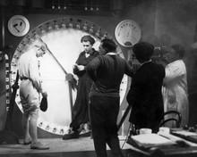 Metropolis Fritz Lang directs famous clock scene 12x18  Poster