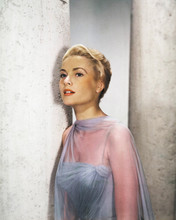 To Catch a Thief Grace Kelly stunning pose wearing blue gown 12x18  Poster