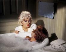 Some Like It Hot Marilyn Monroe Tony Curtis in bathtub 12x18  Poster