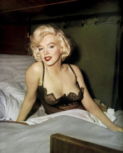 Some Like It Hot Marilyn Monroe sexy in low cut  neglige as Sugar 12x18  Poster