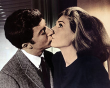 The Graduate Anne Bancroft Dustin Hoffman kisses Mrs Robinson 12x18  Poster