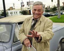 Columbo Peter Falk Peugeot car Columbo Likes The Nightlife episode 12x18  Poster