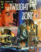 The Twilight Zone Rod Serling comic book art 12x18  Poster
