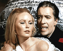 Dracula Has Risen from the Grave Veronica Carlson Christopher Lee 12x18  Poster