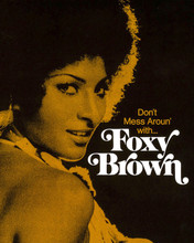 Foxy Brown Pam Grier movie poster art 12x18  Poster