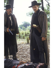 Tombstone Kurt Russell Val Kilmer look down at wounded man 12x18  Poster