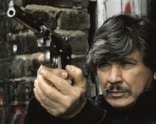 Death Wish 3 Charles Bronson as Paul Kersey pointing gun 12x18  Poster