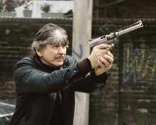 Death Wish 3 Charles Bronson aiming pistol 12x18  Poster