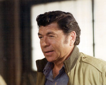 Moving On Claude Akins in bomber jacket 12x18  Poster