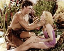 Tarzan the Fearless Buster Crabbe Julie Bishop topless tarzan 12x18  Poster