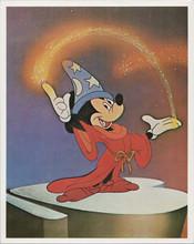 Mickey Mouse Fantasia The Apprentice 8x10 1980's 8x10 photo