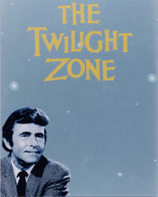 The Twilight Zone TV series logo Rod Serling 8x10 photo
