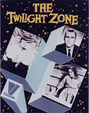 The Twilight Zone TV series Rod Serling publicity promotional 8x10 photo