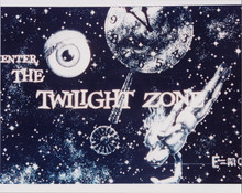 "The Twilight Zone 8x10 photo ""Enter the Twilight Zone"" TV opening scene"