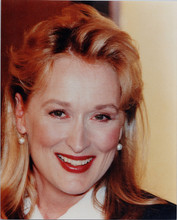 Meryl Streep candid smiling 8x10 press photo circa 1980's