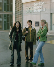 Grey's Anatomy 8x10 photo outside SGH Sandra Oh T.R. Knight Katherine Heigl