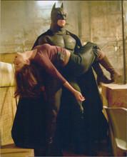 Batman Begins 8x10 photo Christian Bale carries Katie Holmes