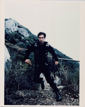 The Living Daylights Timothy Dalton full length in parachute outfit 8x10 photo