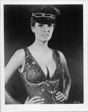 Raquel Welch original 1970's 8x10 photo huge cleavage in bustiere and cap sexy