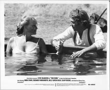 Tom Horn original 1980 8x10 photograph Linda Evans takes bath Steve McQueen