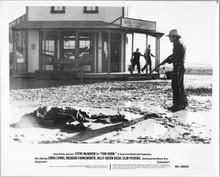 Tom Horn original 8x10 photo 1980 Steve McQueen guns man down in Hagerville