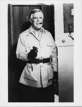 The A Team George Peppard as Hannibal holding gun 1980's 8x10 photo