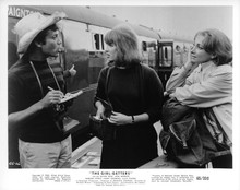 The Girl Getters The System original 8x10 photo Oliver Reed on Paignton station
