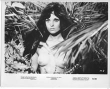 Tarzana original 1970 8x10 photo Franca Polesello as female Tarzan