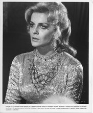 Tommy original 1975 8x10 photo Ann-Margret portrait in sequined gown